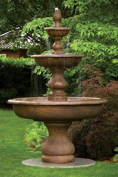 108 inches Monticello Fountain