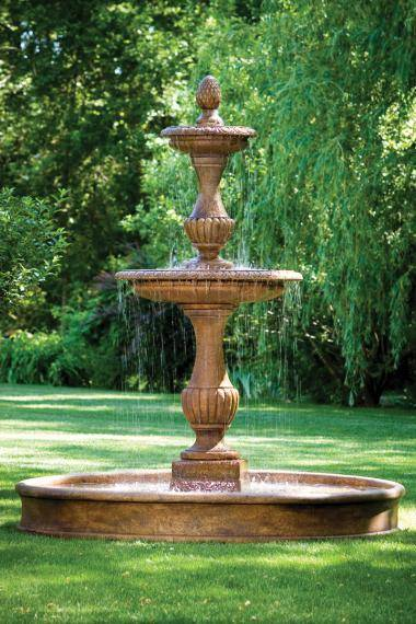 109 inches Savona Fountain On 8' Pool