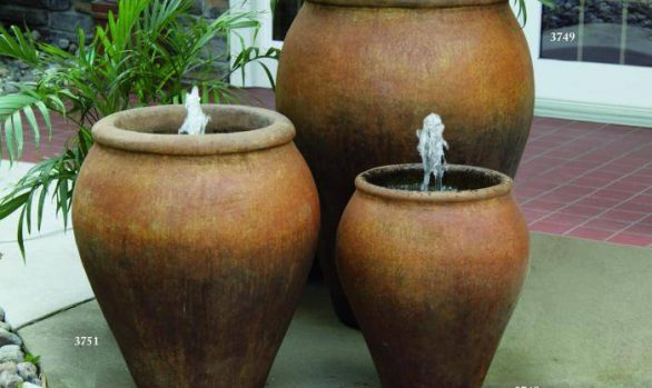 23 inches + 29 inches + 40 inches Lazio Jar Fountain