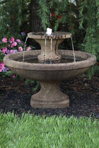 23 inches Two Tier Bella Fountain