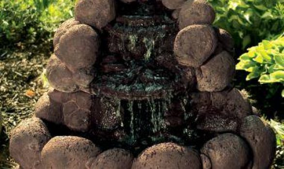 24 inches Boulder Falls Fountain