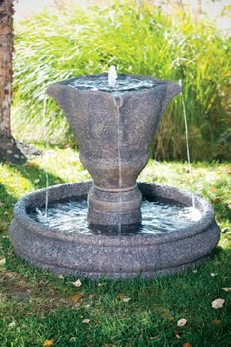 30 Inches-Petal Pool Fountain