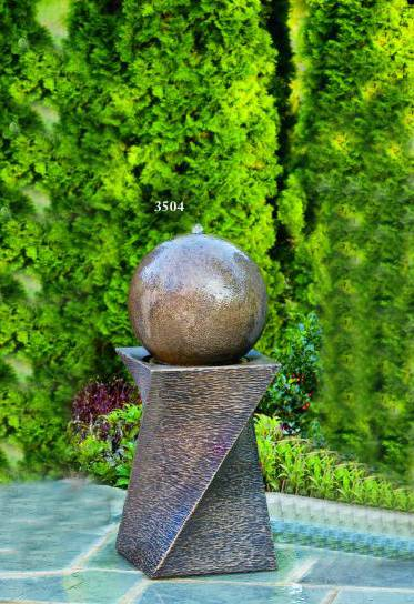 30 inches Contemporary Diagonal Fountain-Right