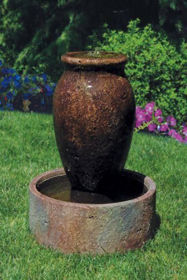 31 inches Taos Urn Fountain