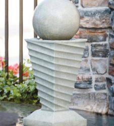 34 inches Contemporary Swirl Fountain