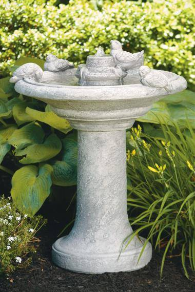 35 inches Birds Of A Feather Fountain