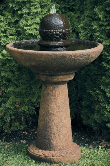 37 inches Cobblestone Finial Fountain