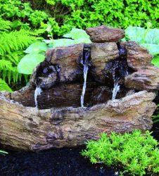 40 inches Log Fountain