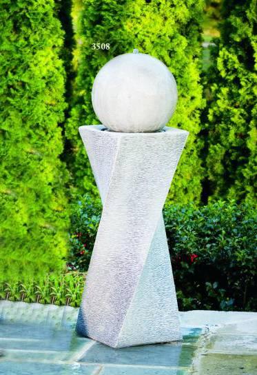 """30"""" Contemporary Diagonal Fountain-Right"""