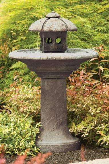 42 inches Pagoda Moon Fountain