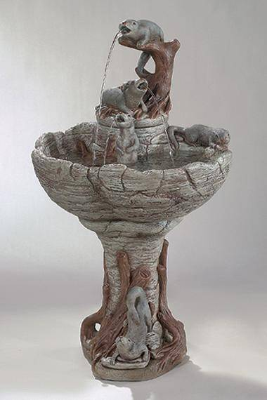 43 inches Otter Fountain