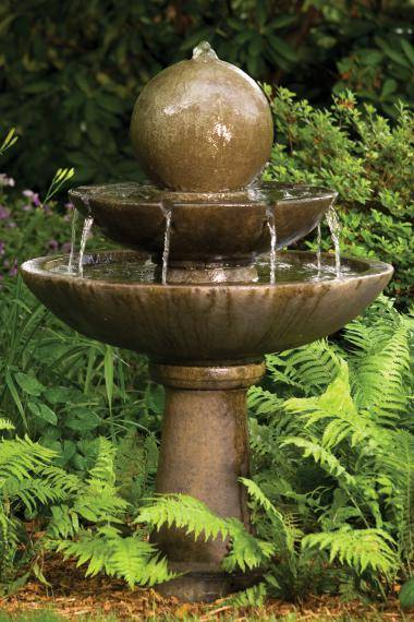46 Inches Tranquillity Sphere Spill Fountain