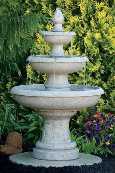 50 inches Three Tier Picasso Fountain