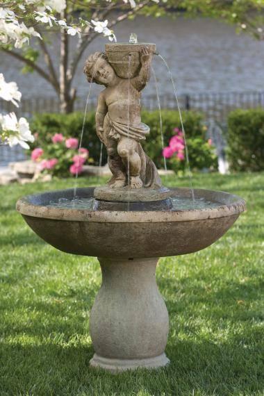53 inches Classico Cherub Fountain