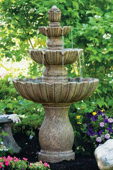 54 inches Mirabella Scallop Fountain