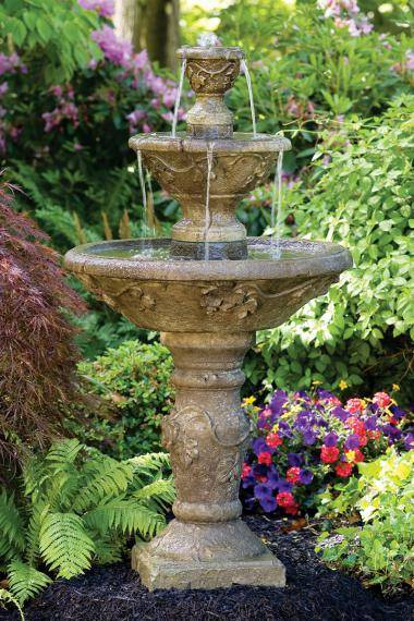 56 inches Three Tier Harvest Fountain
