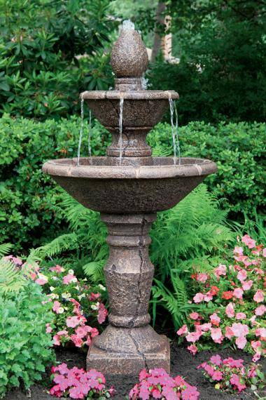 56 inches Two Tier Cortona Fountain