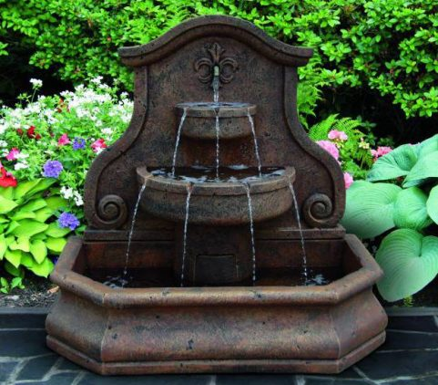 57 Inches Grandessa Arch Wall Fountain