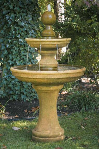 62 inches Opal Two Tier Fountain