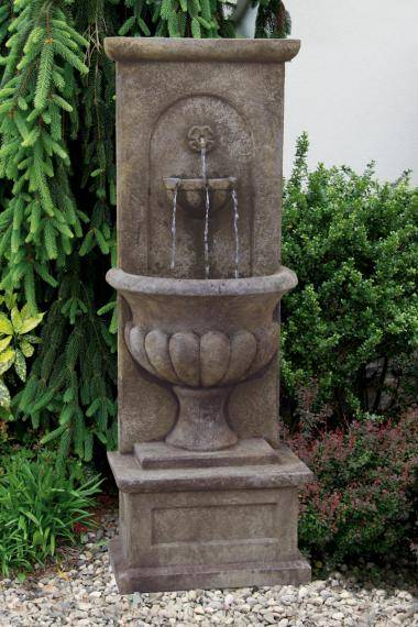 66 inches Roman Urn Wall Fountain