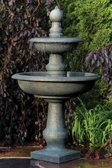 66 inches Two Tier Monticello Fountain