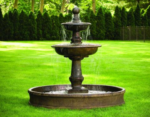 75 inches Monticello Fountain on 6' Pool