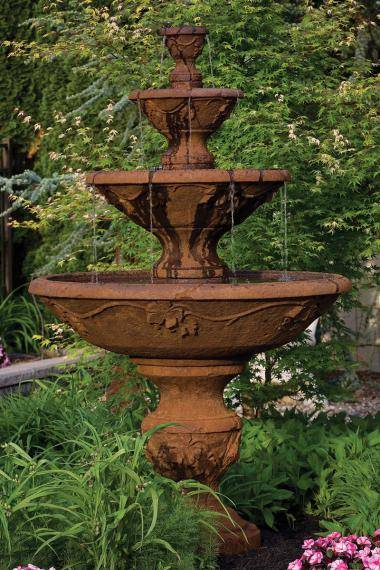 78 inches Four Tier Harvest Fountain