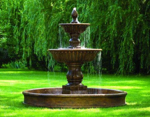 85 inches Florentine Fountain on 8' Pool