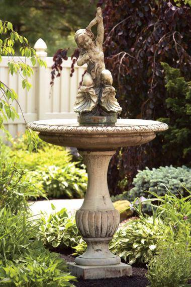 87 inches Cherub And Shells Fountain