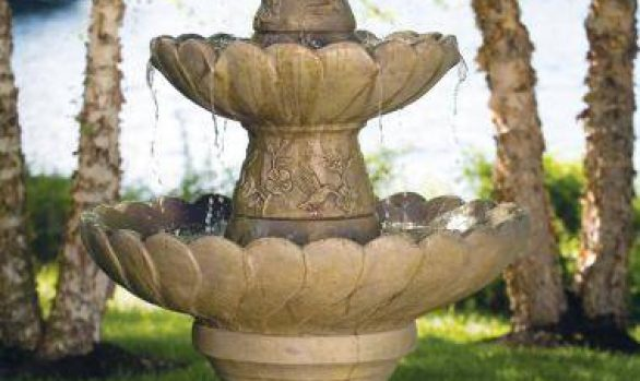 Four Tier Hummingbird Fountain