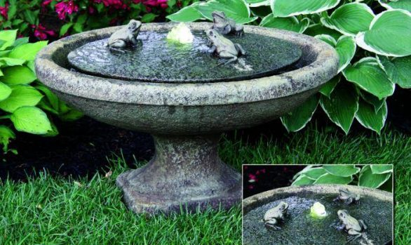 Garden Frogs Oval Fountain