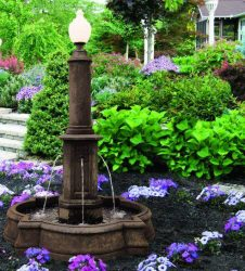 Gregory Lamp Light Fountain