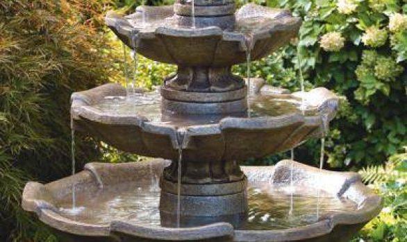 Small Four Tier Fountain