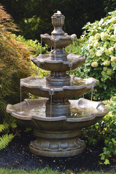 Small Four Tier Fountain
