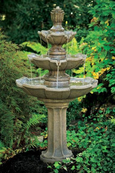Three Tier Classical Fountain