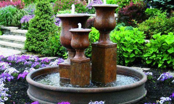 Vail Goblet Urn Fountain